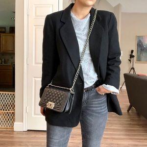 Vintage 100% Wool Blazer Jacket